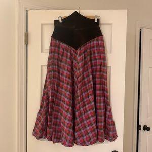 Vintage Barboglio Cristina-Jan cotton skirt